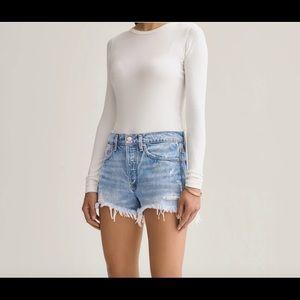NWOT Agolde Parker vintage cut off denim shorts